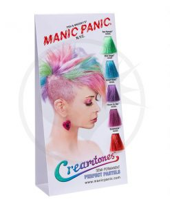 Nuancier Colorations Creamtones Manic Panic | Color-Mania