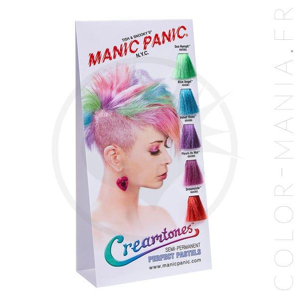 Nuancier Colorations Creamtones Manic Panic | Color-Mania
