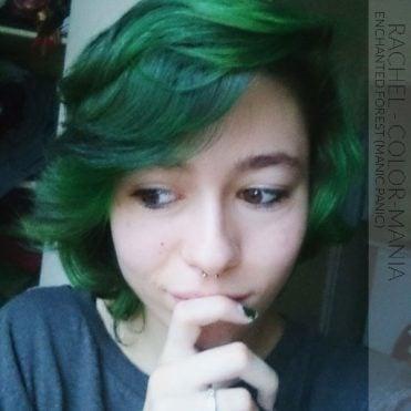 Merci Rachel ! Coloration Cheveux Enchanted Forest - Manic Panic