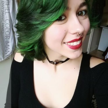Merci Rachel ! Coloration Cheveux Green Envy - Manic Panic