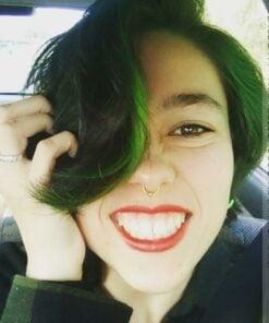 Merci Rachel ! Coloration Cheveux Venus Envy + mèche Electric Lizard - Manic Panic