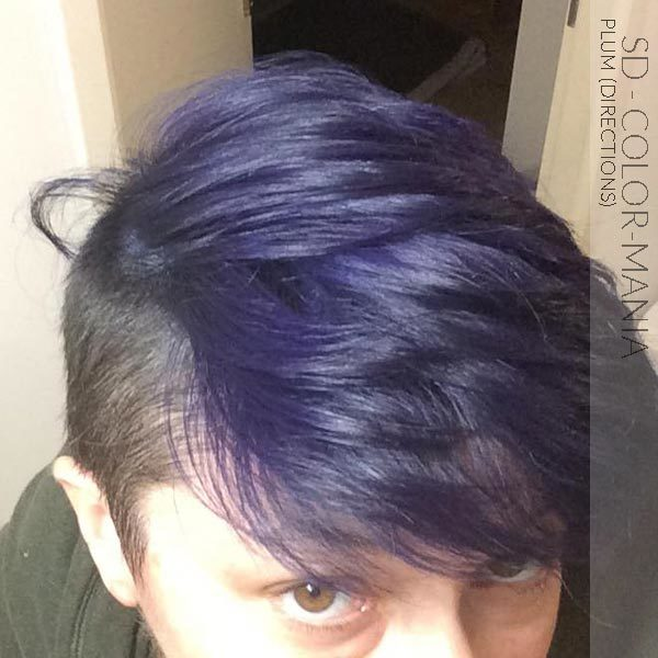 Merci SD :) Coloration Cheveux Violet Prune – Directions
