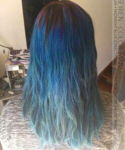 Grazie Seiren :) Colore dei capelli Purple Plum e Midnight Blue - Indicazioni, Atomic Turquoise Tips - Manic Panic