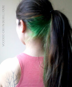 Merci Emeline :) Coloration Cheveux Vert Voodoo Green - Rebellious   Color-Mania