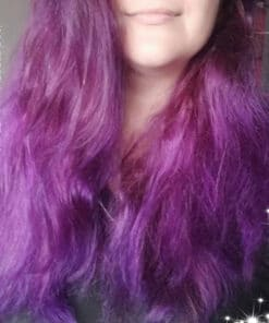 Merci Jessica :) Coloration Cheveux Violet Purple Fury - Rebellious | Color-Mania