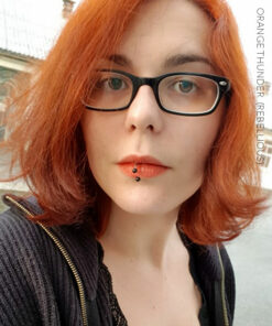 Merci Lina Slaughter :) Coloration Cheveux Orange Thunder - Rebellious | Color-Mania