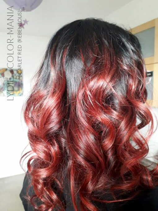 Merci Lydie :) Coloration Cheveux Rouge Scarlet Red - Rebellious | Color-Mania