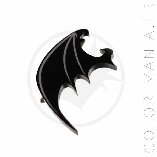 Black Dragon Wing Barrettes | Color-Mania
