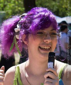 Merci Marguerite :) Coloration Cheveux Violet Purple Fury - Rebellious | Color-Mania