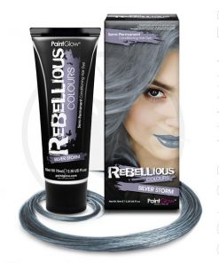 Coloration Cheveux Toner Gris Silver Storm - Rebellious | Color-Mania