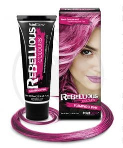 Pink Flamingo Hair Color Pink - Ribelle | Color-Mania