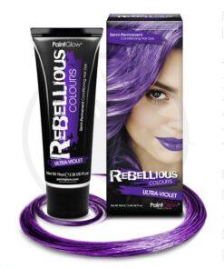 Coloración del cabello ultravioleta - rebelde | Color-Mania