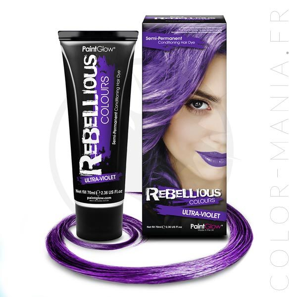 Coloration Cheveux Ultra-Violet - Rebellious | Color-Mania