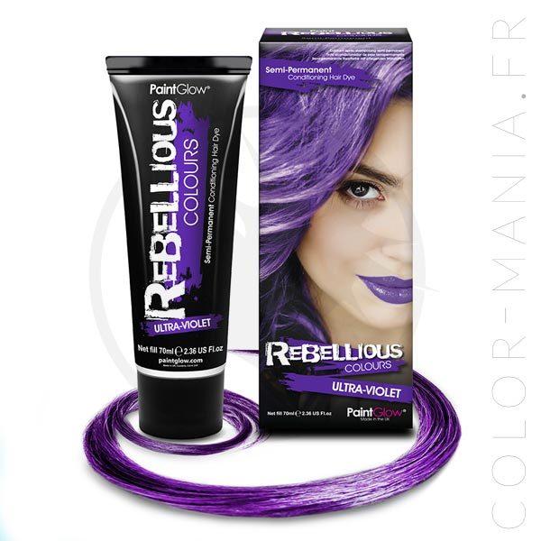 Coloration Cheveux Ultra-Violet - Rebellious   Color-Mania