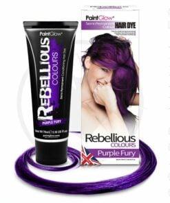 Colorazione capelli viola violaceo furioso - ribelle | Color-Mania