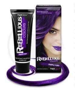 Violet Purple Fury coloración del cabello - rebelde | Color-Mania