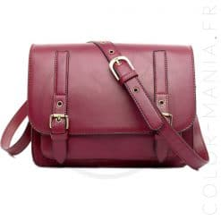 Sac à Main Satchel Bordeaux | Color-Mania