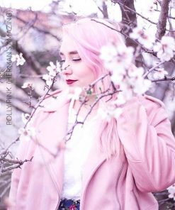 Merci @camilletalks :) Coloration Cheveux Rose Pastel Polly Pink UV - Herman's Amazing | Color-Mania