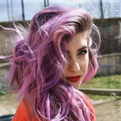 Merci @didiromanb :) Coloration Cheveux Rose Peggy Pink UV - Herman's Amazing | Color-Mania