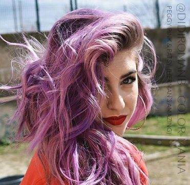 Merci @didiromanb :) Coloration Cheveux Rose Peggy Pink UV - Herman's Amazing | Color-Mania