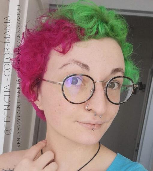 Merci Charlotte :) Coloration Cheveux Vert Venus Envy - Manic Panic | Color-Mania
