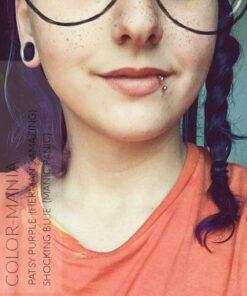 Merci @jessyrelaxationasmr :) Coloration Cheveux Bleu Shocking Blue - Manic Panic | Color-Mania