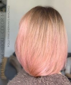 Merci @plume_dehibou :) Coloration Cheveux Rose Pastel Polly Pink UV - Herman's Amazing | Color-Mania