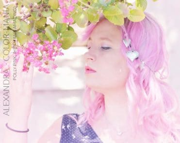 Merci Alexandra :) Coloration Cheveux Rose Pastel Polly Pink UV - Herman's Amazing   Color-Mania
