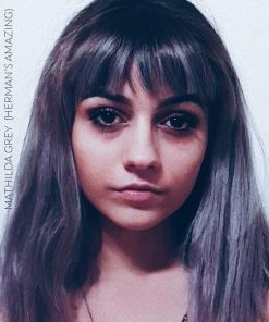 Merci Anaïs :) Coloration Cheveux Gris Granny Mathilda Grey - Herman's Amazing | Color-Mania