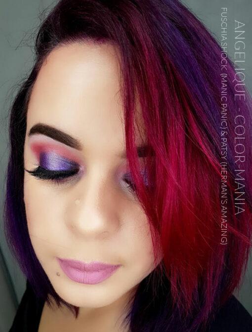 Merci Angélique :) Coloration Cheveux Violet Patsy Purple - Herman's Amazing | Color-Mania