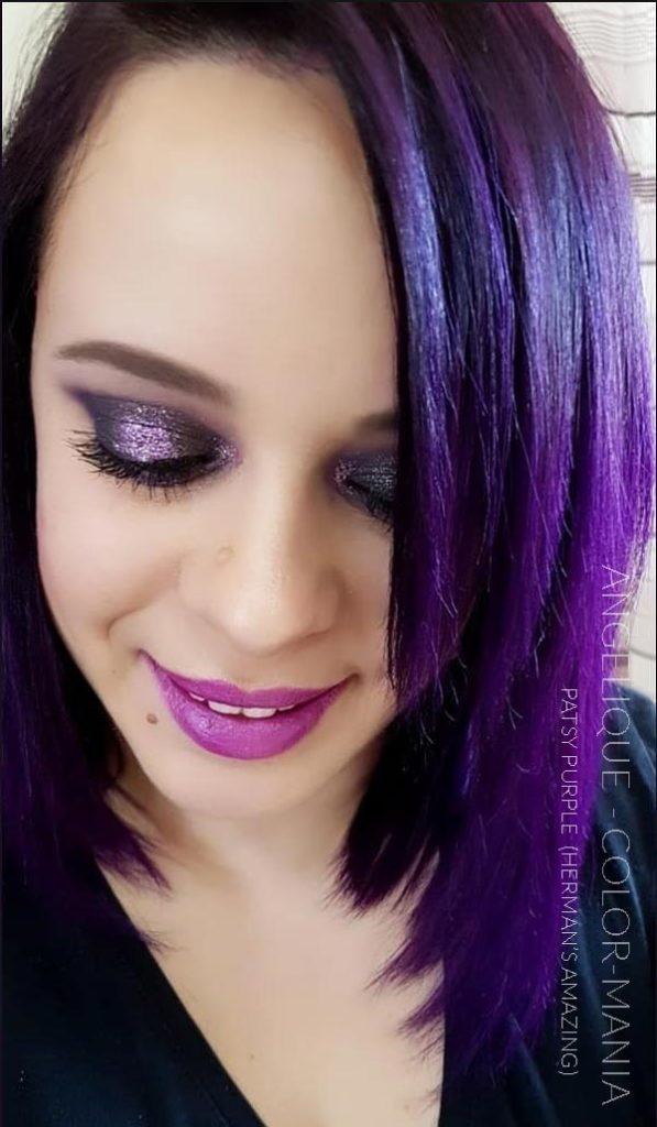 Merci Angelique :) Coloration Cheveux Violet Patsy Purple - Herman's Amazing | Color-Mania