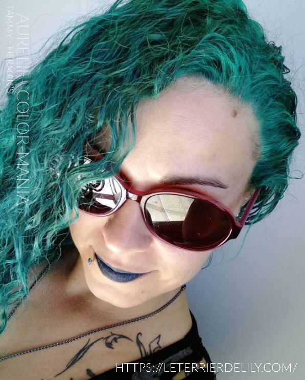 Merci Aurélie :) Coloration cheveux Tammy Herman's Amazing | Color-Mania