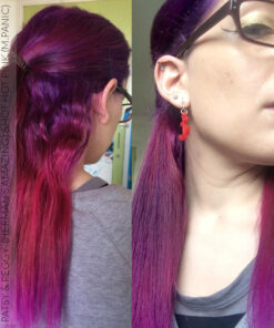 Merci Ayanna :) Coloration Cheveux Rose Hot Hot Pink UV - Manic Panic | Color-Mania