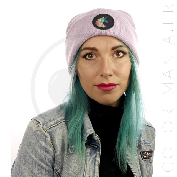 Holographic Unicorn Lilac Hat | Color-Mania