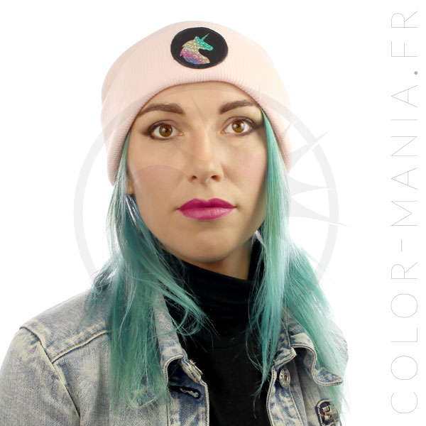 Holographic Unicorn Pink Pastel Hat | Color-Mania