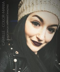 Merci Camille :) Coloration Cheveux Noir Black Dahlia - Herman's Amazing | Color-Mania