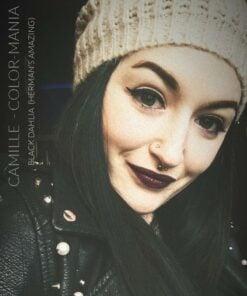 Merci Camille :) Coloration Cheveux Noir Black Dahlia - Herman's Amazing | Color-Mania