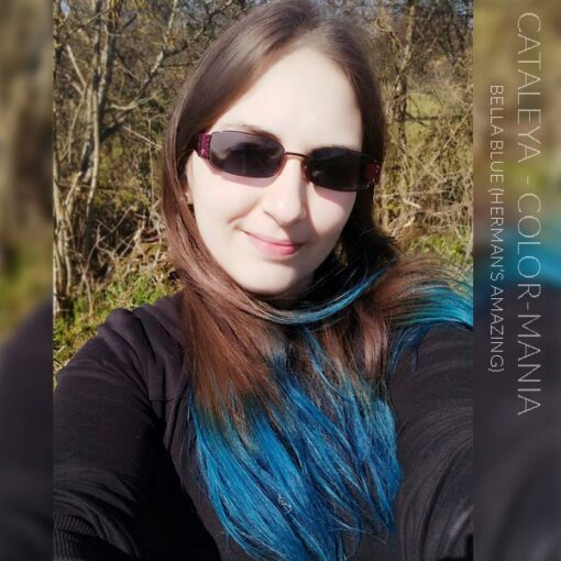 Merci Cataleya :) Coloration Cheveux Bleu Bella Blue - Herman's Amazing | Color-Mania