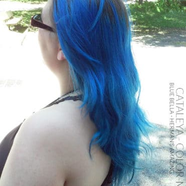 Merci Cataleya ! - Coloration Cheveux Bleu Bella - Herman's Amazing - Color-Mania