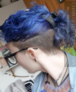 Merci Charlotte :) Coloration Cheveux Bleu Bella Blue - Herman's Amazing | Color-Mania