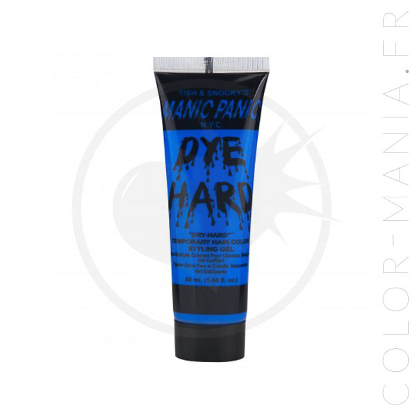 Coloration Temporaire Gel Cheveux Bleu UV Electric Sky - Manic Panic | Color-Mania