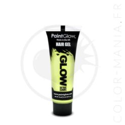 Coloration Temporaire Gel Transparent Phosphorescent dans le Noir - PaintGlow | Color-Mania