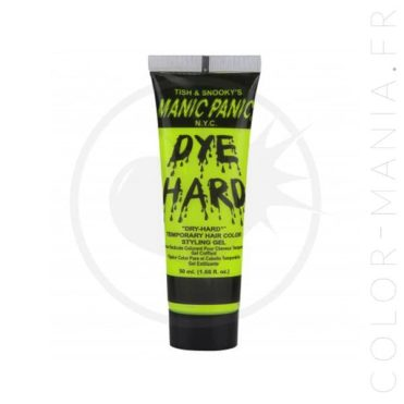 Coloration Temporaire Gel Cheveux Jaune UV Electric Banana - Manic Panic | Color-Mania