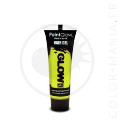 Coloration Temporaire Gel Jaune Phosphorescent dans le Noir | Color-Mania