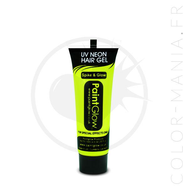 Coloration Temporaire Gel Cheveux Jaune UV - PaintGlow | Color-Mania