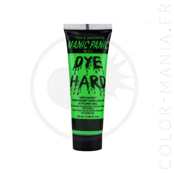 Coloration Temporaire Gel Cheveux Vert UV Electric Lizard - Manic Panic | Color-Mania