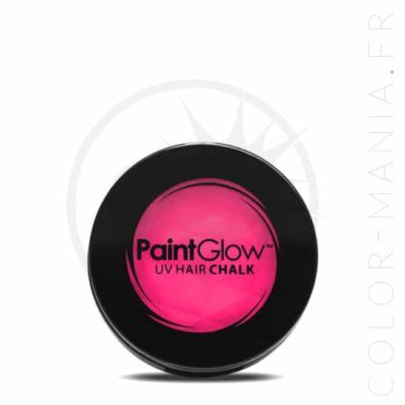 Craie Cheveux Rose UV - PaintGlow | Color-Mania