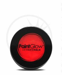 Craie Cheveux Rouge UV - PaintGlow | Color-Mania
