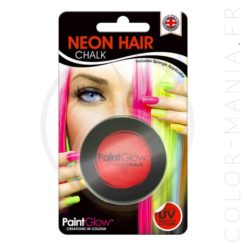 Craie Cheveux Rouge UV - PaintGlow | Color-Mania