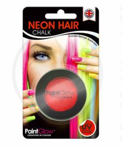 Tiza para el cabello rojo ultravioleta - PaintGlow | Color-Mania